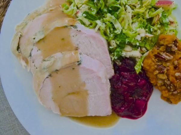 turkey dinner | pamela salzman