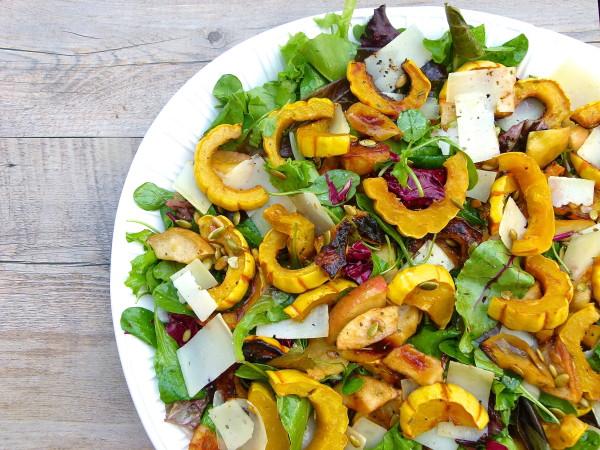 delicata and apple salad | pamela salzman