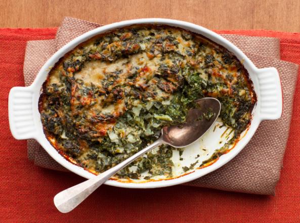 Ina Garten's Spinach Gratin
