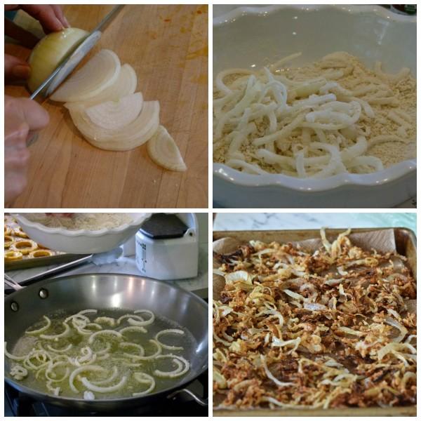 homemade crispy onions | pamela salzman