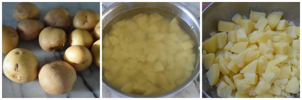 Yukon gold potatoes for mashed potatoes