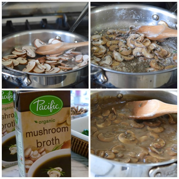 clean mushroom sauce for green bean casserole | pamela salzman