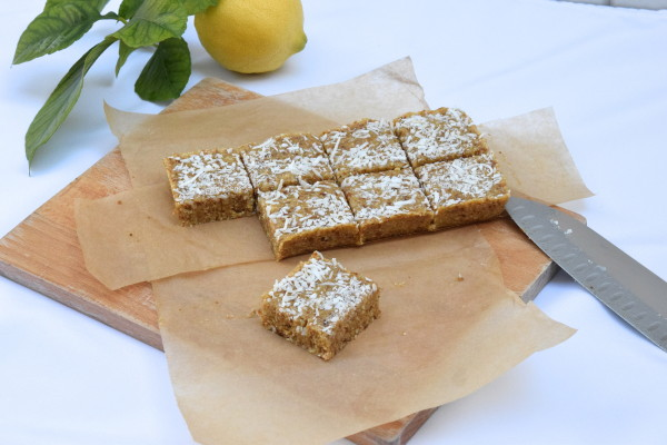 raw lemon bars | pamela salzman