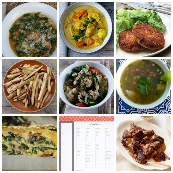 Dinner Planner: Week of January 18th | pamela salzman