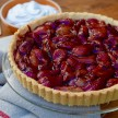 Grain-free Balsamic Roasted Strawberry Tart Recipe