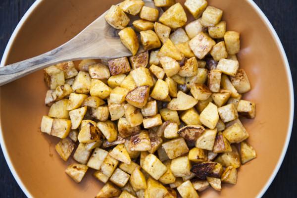 balsamic roasted rutabagas | pamela salzman