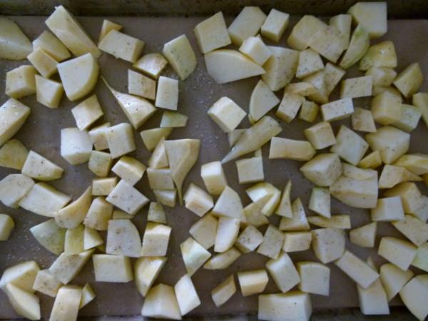 preparing rutabagas