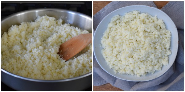 how to make delicious cauli-rice | pamela salzman