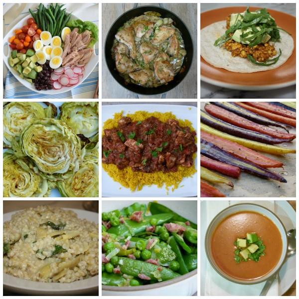 dinner planner from pamela salzman