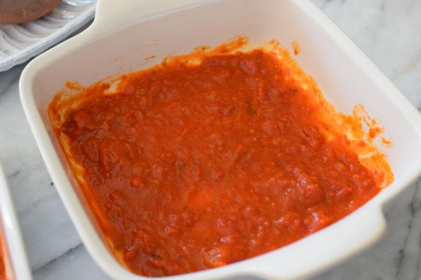 sauce first | passover matzoh lasagne | pamela salzman