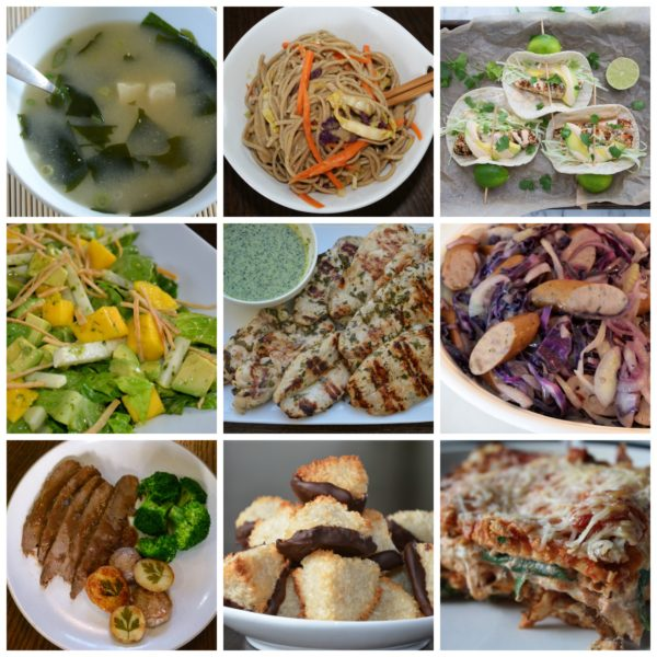 dinner planner | pamela salzman