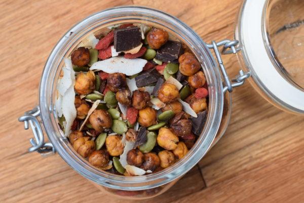 Crunchy Chickpea Trail Mix | pamela salzman