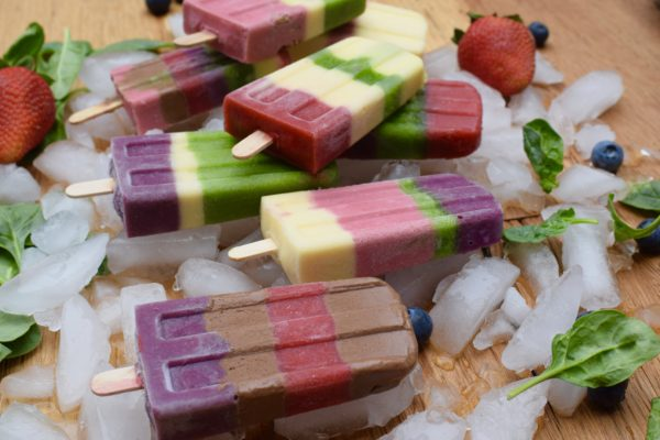 Popsicles made from leftover smoothies! pamelasalzman.com