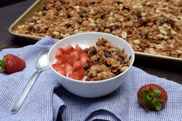 Peanut Butter Granola | pamela salzman