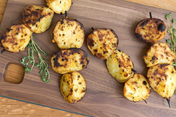 Zesty Potato Skewers | pamela salzman