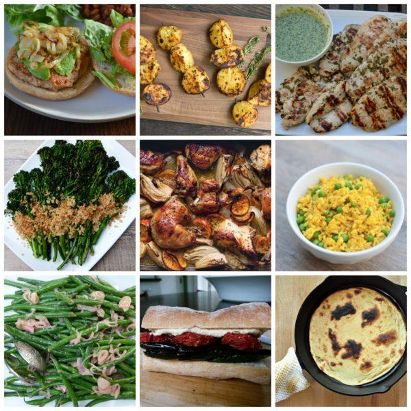 Pamela Salzman's dinner planner