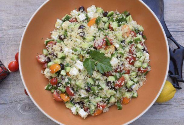 Mediterranean Quinoa Salad|Pamela Salzman