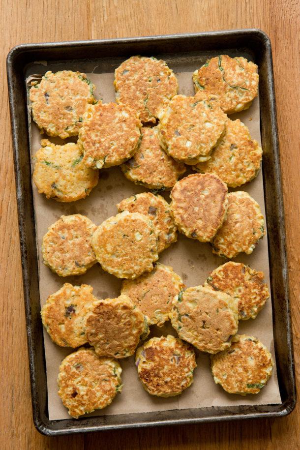 Fresh Corn Cakes with Avocado Salsa|Pamela Salzman