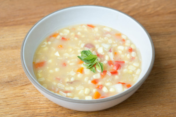 Corn and Vegetable Chowder|Pamela Salzman