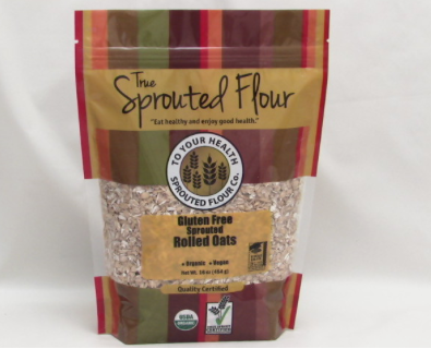 sprouted organic gluten-free oats