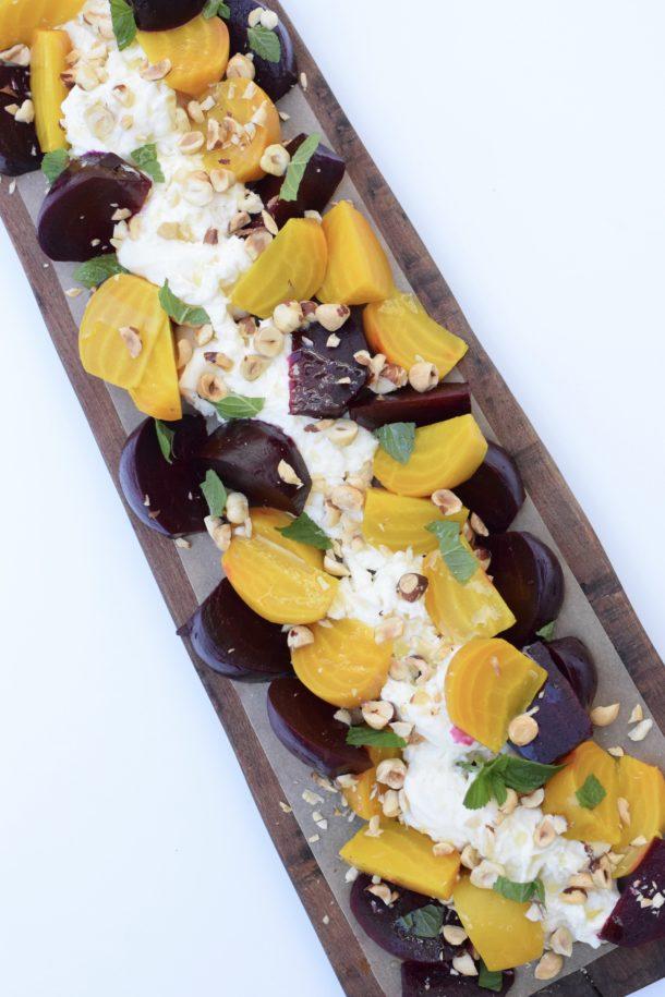 Roasted Beet and Burrata Salad | Pamela Salzman