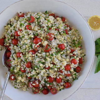 Barley and Corn Tabbouleh | Pamela Salzman