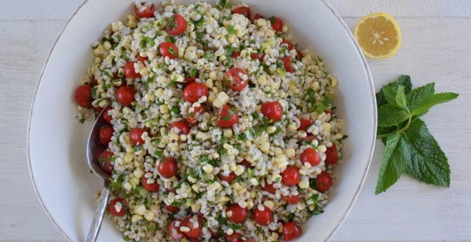 Barley and Corn Tabbouleh Recipe
