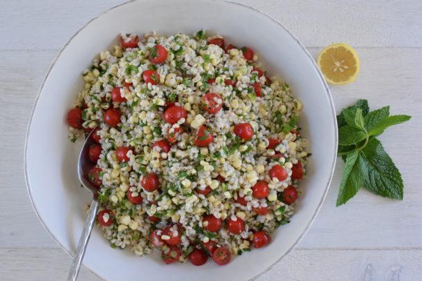 Barley and Corn Tabbouleh   Pamela Salzman