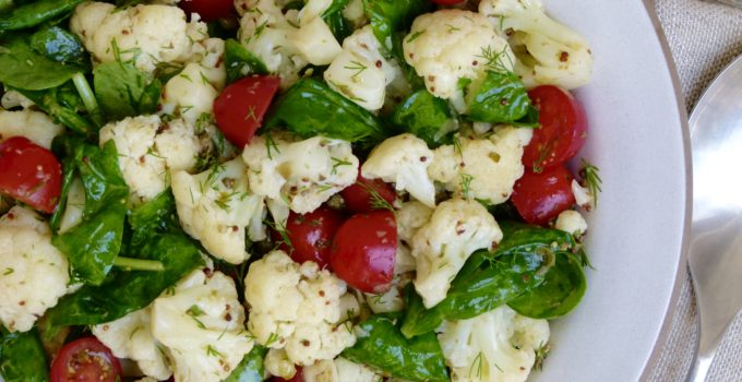 Cauliflower with Tomatoes, Dill and Capers Recipe