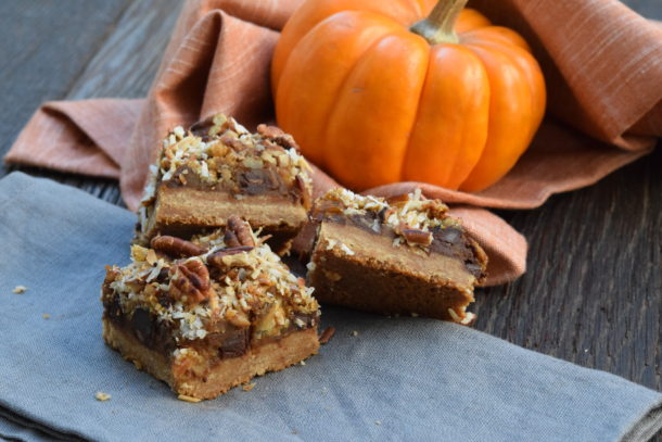 Pumpkin Magic Bars | Pamela Salzman