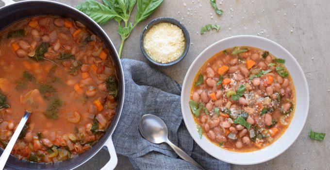 Cranberry Bean (aka Borlotti Bean) Soup Recipe