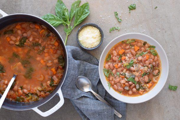 Cranberry Bean Soup | Pamela Salzman