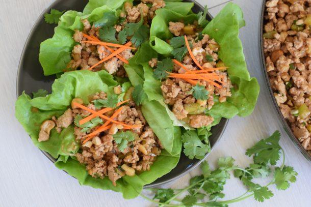 Asian Turkey Lettuce Cups | Pamela Salzman