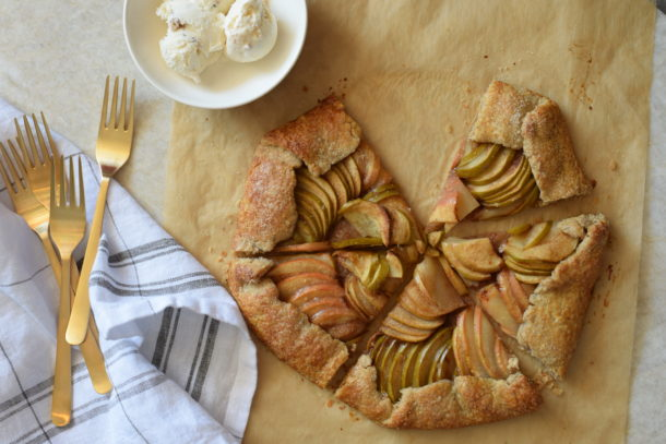 Salted Maple Apple Galette | Pamela Salzman