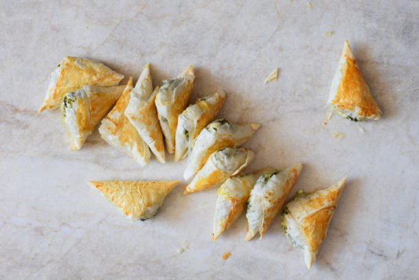 Mini Spanakopita Pies Recipe and *VIDEO* | Pamela Salzman