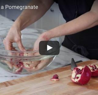 How to Seed a Pomegranate by Pamela Salzman