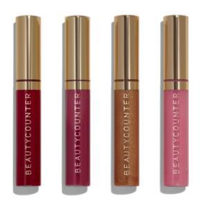 beauty counter lip glosses