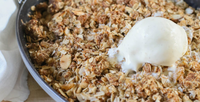 Asian Pear Crisp with Coconut and Ginger Recipe