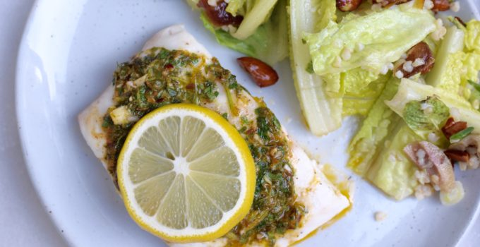 Roasted Fish with Chermoula Recipe