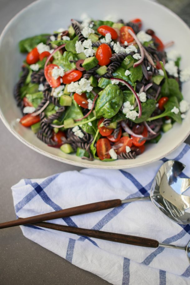 Greek Pasta Salad | Pamela Salzman