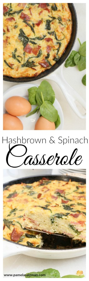 Hashbrown and Spinach Casserole | Pamela Salzman
