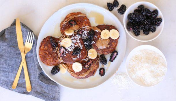 Grain-Free Sweet Potato Pancakes | Pamela Salzman