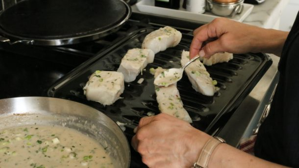 Wild Halibut with Thai Coconut Sauce | Pamela Salzman
