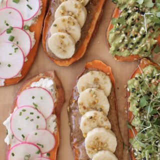 Sweet Potato Toasts | Pamela Salzman