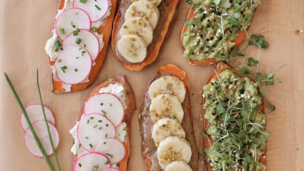 Sweet Potato Toasts | Pamela Salzman