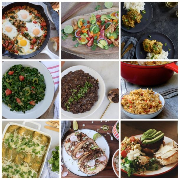 Dinner Planner Week of April 30th | Pamela Salzman