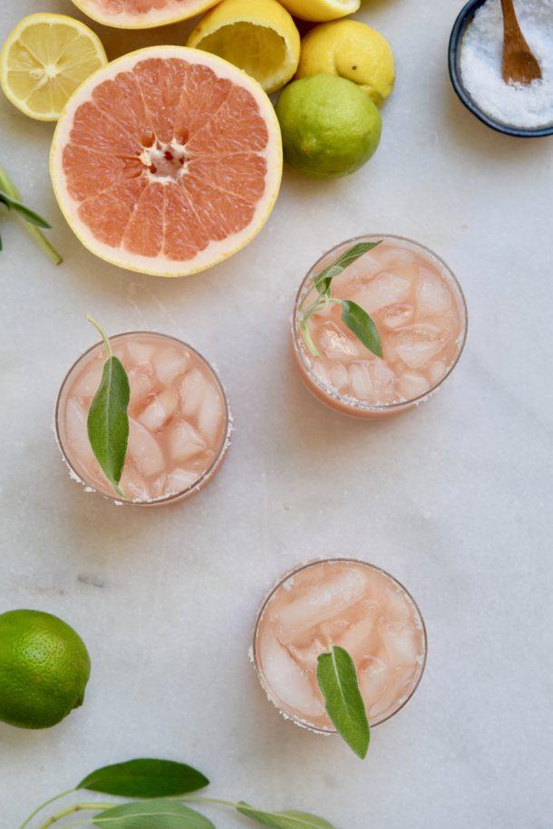Citrus Sage Tonic | Pamela Salzman