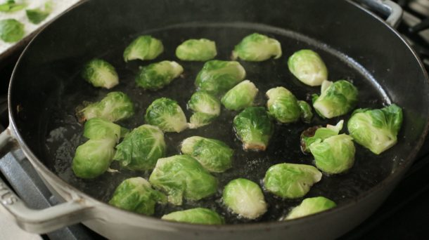 Mexican Inspired Brussels Sprouts | Pamela Salzman