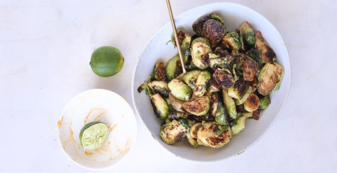 Chipotle Brussels Sprouts Recipe