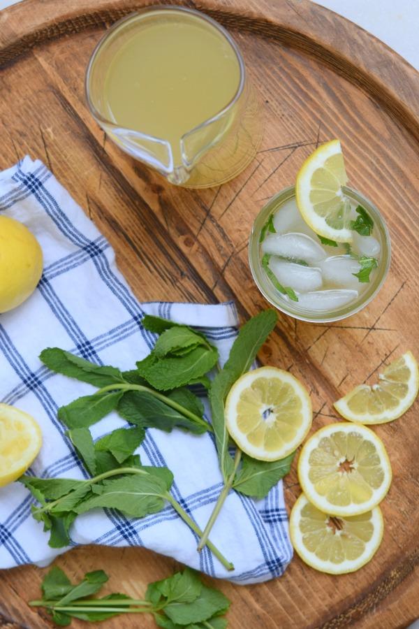 Green Tea Arnold Palmers | Pamela Salzman